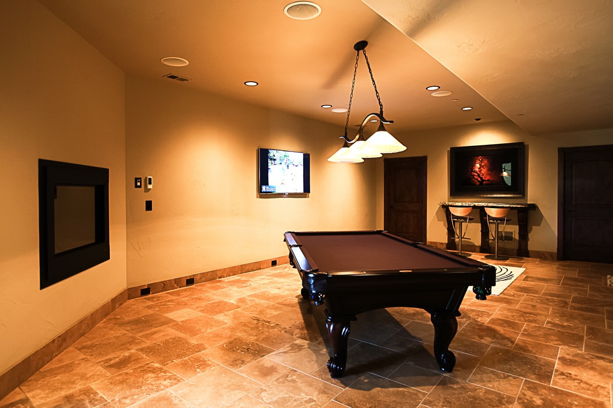 Home theater wine cellar sets elegant country estate for Elegant country homes