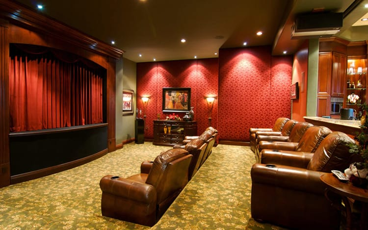 Creating A Cinematic Basement Getaway